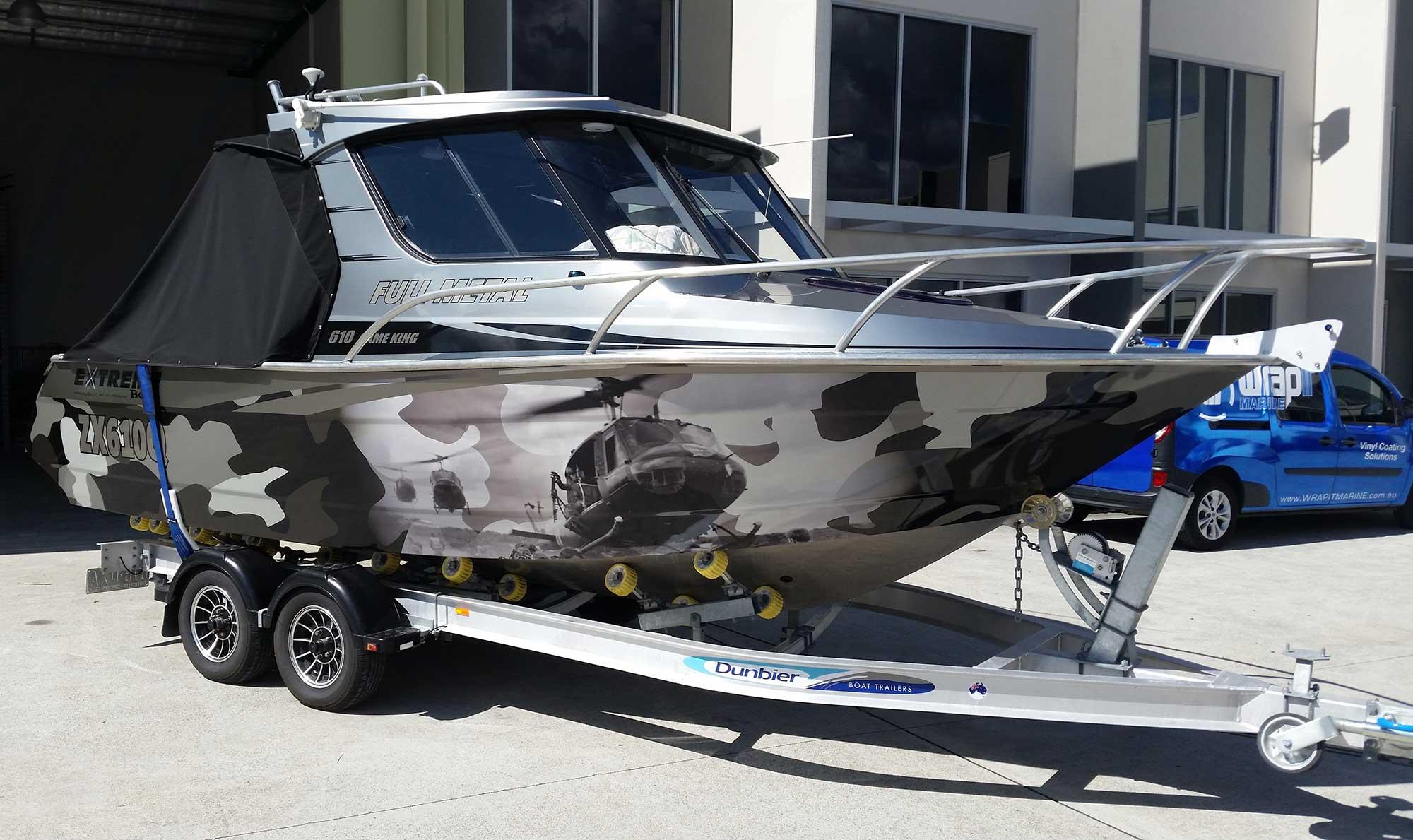 Recreational Boat Wraps Ski Boat Wraps